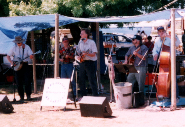 """Bluegrass"" music at the Fete"