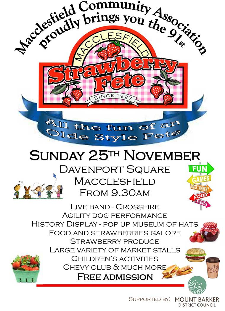 2018 Macclesfield Strawberry Fete