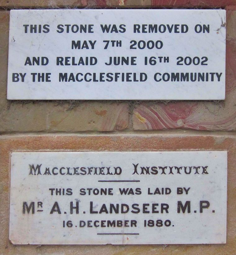 Foundation stone Jan 2020