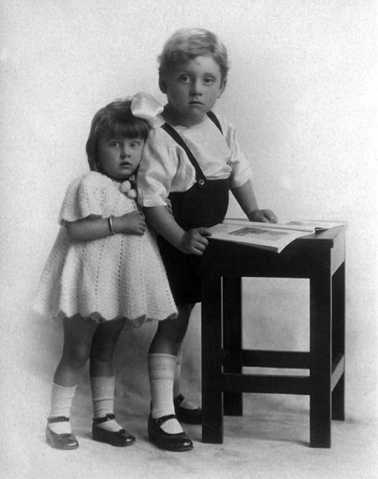 Ossie and Betty LEMAR 1927