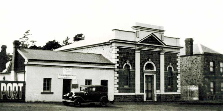 National Bank of Austrlia in the 1940's