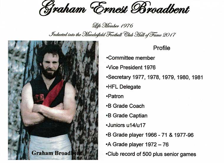 Graham Ernest Broadbent
