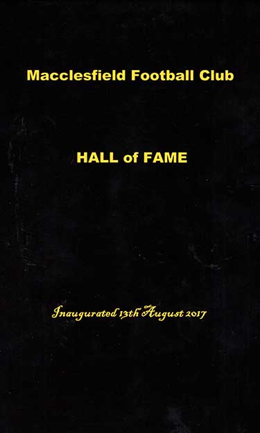 Hall of Fame cover
