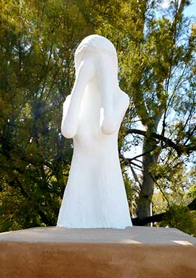 A Weeping Woman by Kym Afford of Mt Barker